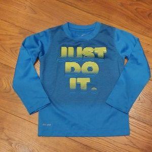 Nike Drifit shirt Size 5